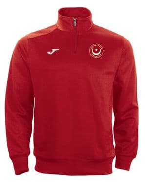 Drogheda & District Athletic Club Joma Combi 1/4 Zip Sweatshirt Red Youth 2020