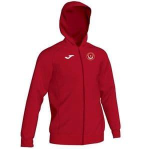 Drogheda & District Athletic Club Joma Menfi Full Zip Hoodie Red Youth 2020