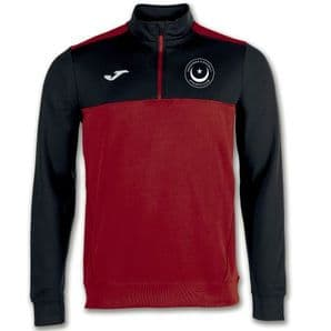 Drogheda & District Athletic Club Joma Winner 1/4 Zip Sweatshirt Red/Black Adults 2020