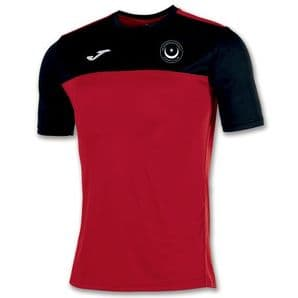 Drogheda & District Athletic Club Joma Winner S/S Shirt Red/Black Adults 2020