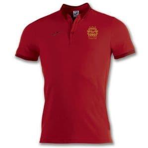 North Kildare Cricket Club Bali Red Polo Shirt - Adults 2018