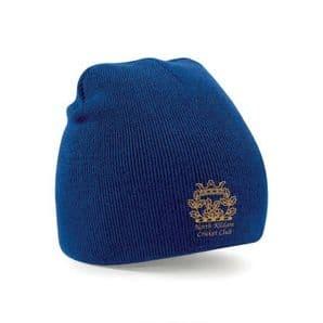 North Kildare Cricket Club Royal Blue Beanie