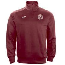 Park Celtic FC Joma Combi 1/4 Zip Sweatshirt Burgundy Adults 2020