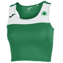 Raheny AC Joma Women's Race Sleeveless T-Shirt Green/White Youth 2019-20