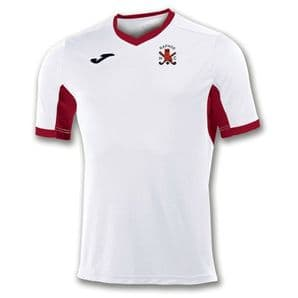 Raphoe Hockey Club Champion IV (Men's Fit) T-Shirt White/Red  - Adults 2018