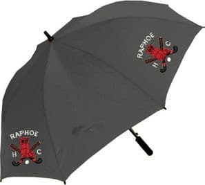 Raphoe Hockey Club Umbrella Black