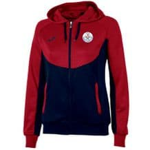 Tralee Tennis Club Joma Jacket Hoodie Essential Women's Navy/Red Adults 2019