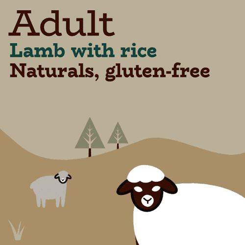 Limited ingredient lamb and rice low-fat dry dog food
