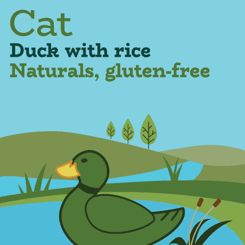 Low iodine duck dry cat food for urinary health