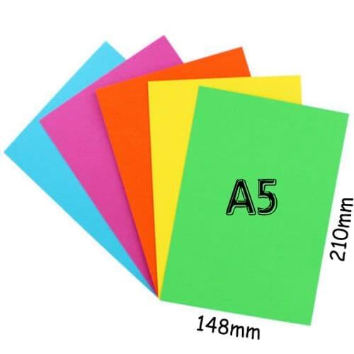 A5 sheet