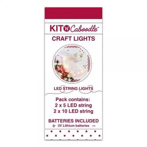 Kit 'N' Caboodle Craft LED Lights (4pk)