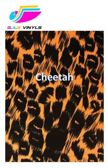 Metallic Patterned HTV :- Cheetah