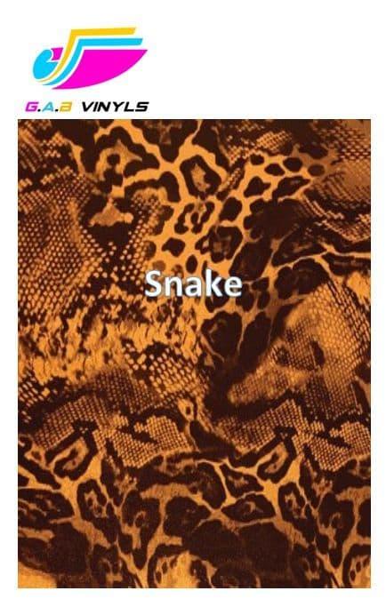 Metallic Patterned HTV :- Snake