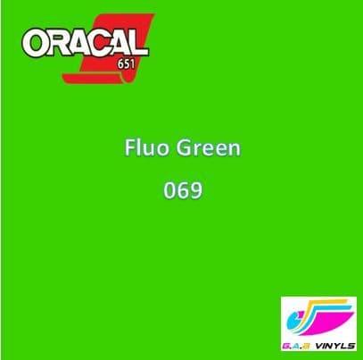 Oracal 6510  :- Fluorescent Green