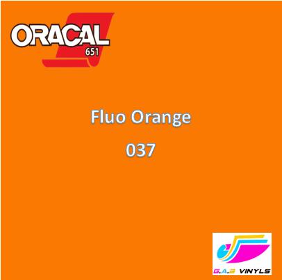 Oracal 6510  :- Fluorescent Orange
