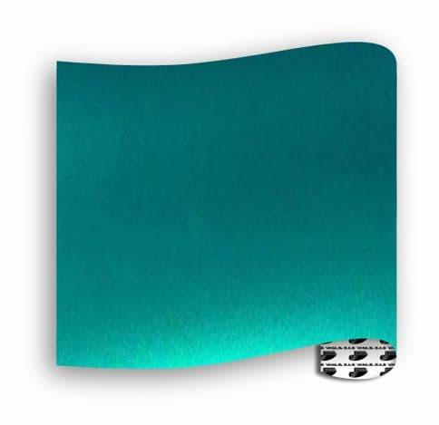 Satin Chrome  :-  Green - A4 sheet