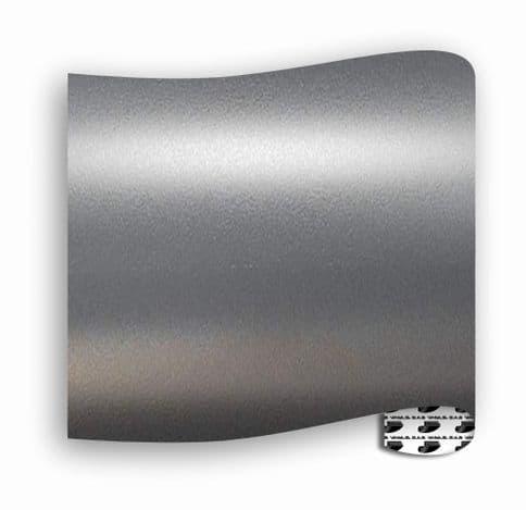 Satin Chrome  :-  Gunmetal Grey - Mini Roll