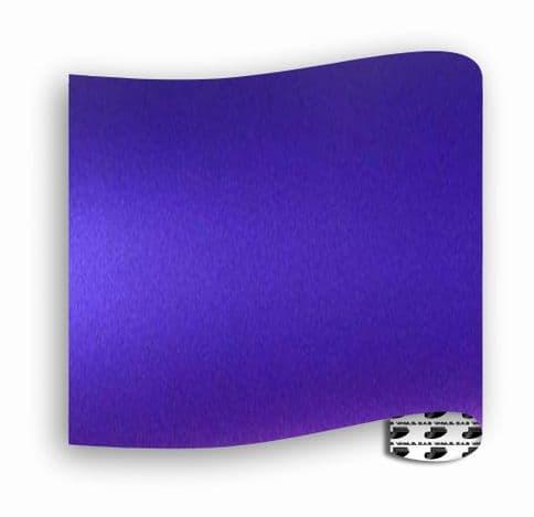 Satin Chrome  :-  Purple - Mini Roll