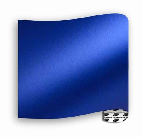 Satin Chrome  :-  Royal Blue - Mini Roll