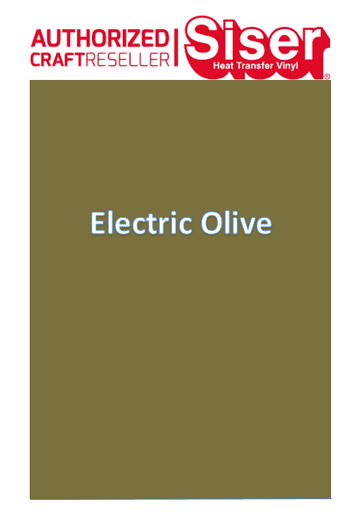 Siser Easyweed P.S Electric :- Olive