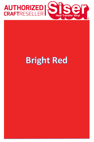 Siser Easyweed  P.S Stretch :-Bright Red