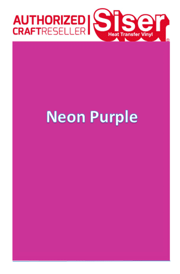 Siser Easyweed  P.S Stretch :- Neon Purple