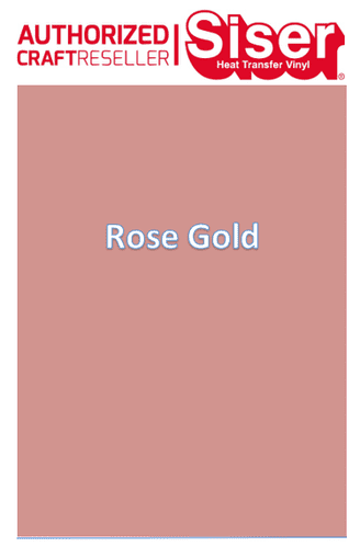 Siser Easyweed  P.S Stretch :- Rose Gold