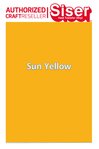 Siser Easyweed  P.S Stretch :- Sun Yellow