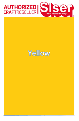 Siser Easyweed  P.S Stretch :- Yellow