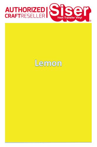Siser Hi-5 :- Lemon