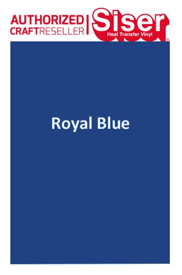 Siser Hi-5 :- Royal Blue