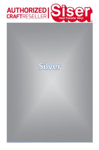 Siser Hi-5 :- Silver