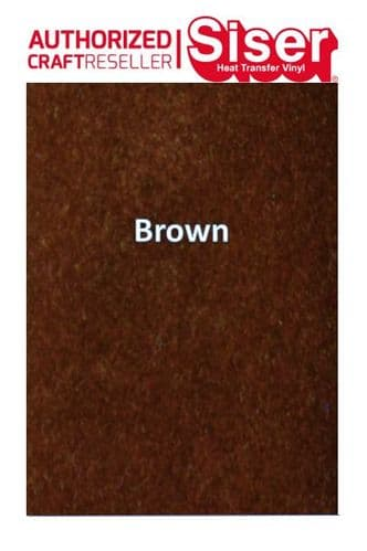 Siser StripFlock Pro HTV :- Brown (S0017)