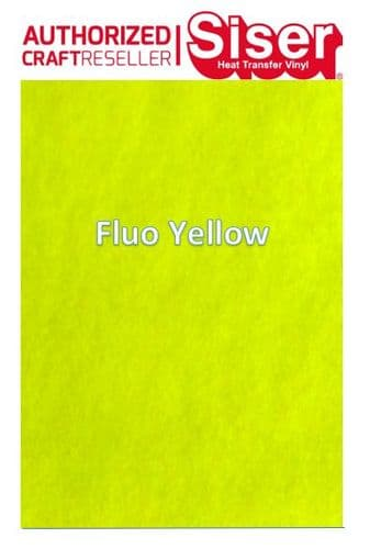 Siser StripFlock Pro HTV :- Fluo Yellow (S0022)