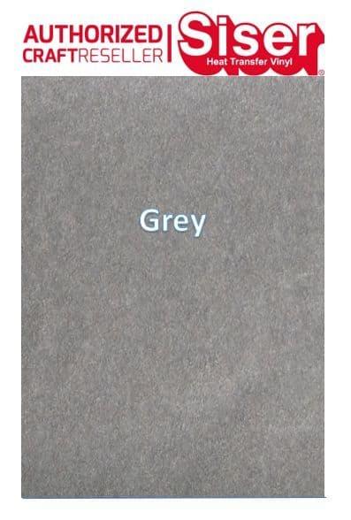 Siser StripFlock Pro HTV :- Grey (S0018)