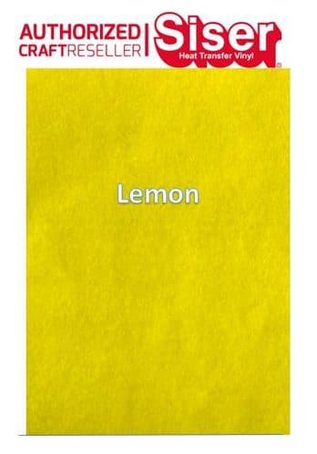 Siser StripFlock Pro HTV :- Lemon (S0003)