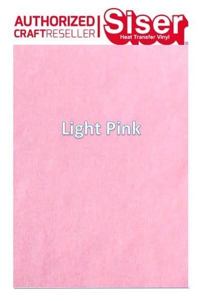 Siser StripFlock Pro HTV :- Light Pink (S0031)