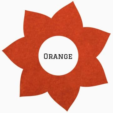 Siser StripFlock Pro HTV :- Orange (S0006)