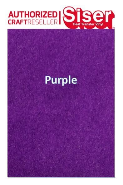 Siser StripFlock Pro HTV :- Purple (S0015)