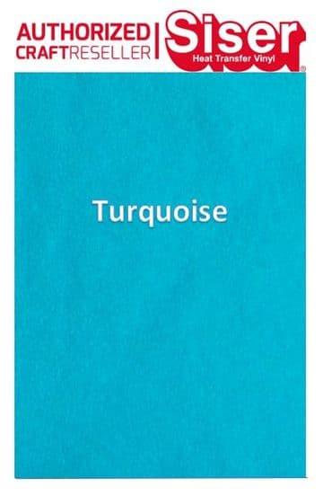 Siser StripFlock Pro HTV :- Turquoise (S0012)