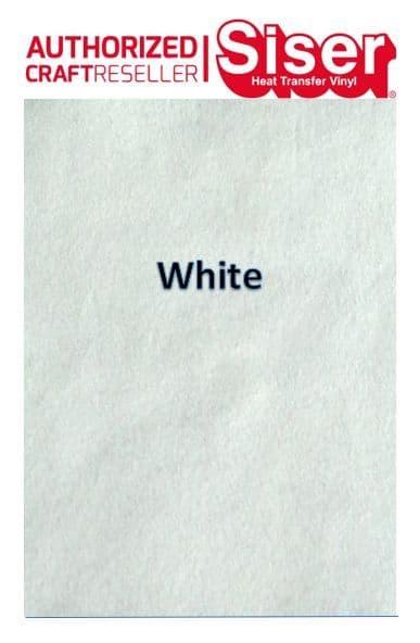Siser StripFlock Pro HTV :- White (S0001)