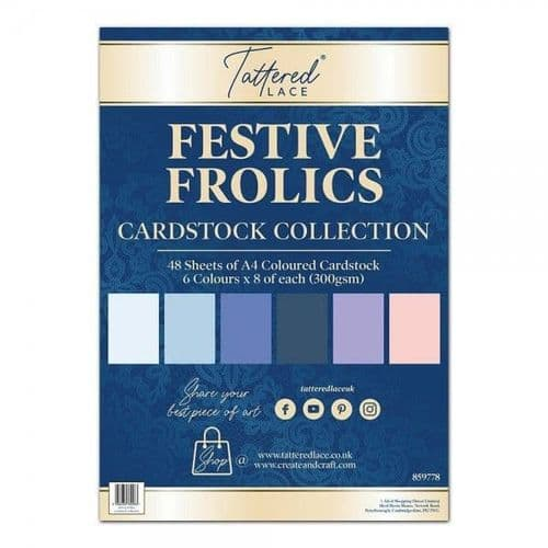 Tattered Lace Festive Frolics Cardstock Collection