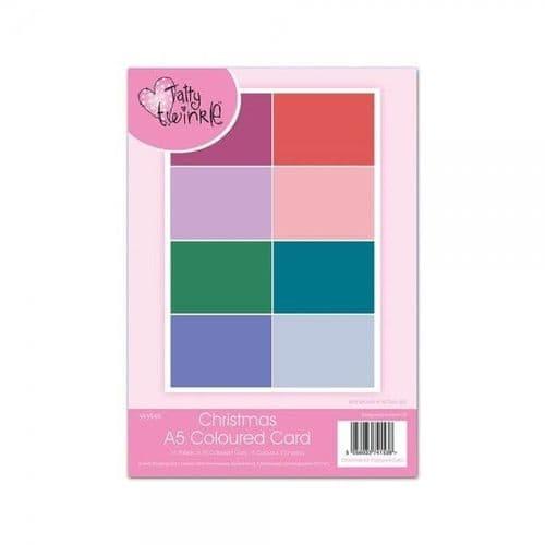 Tatty Twinkle Christmas Coloured A5  Card Pack