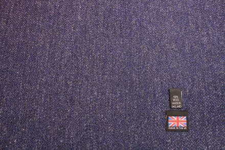 100% Pure New Wool Hopsack Tweed Fabric | CZ99