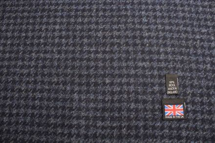 100% Pure New Wool Houndstooth Fabric | CZ88