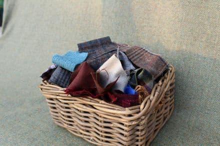 1Kg Quality Yorkshire Tweed 100% Wool Remnants/Scraps: Various Crafts / Rag Rugs