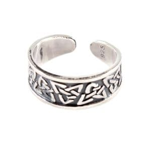 Charm School UK > Sterling Silver Toe Rings > Celtic Design