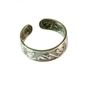 Charm School UK > Sterling Silver Toe Rings > Leaves