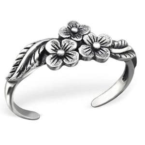 Charm School UK > Sterling Silver Jewellery > Silver Toe Rings > 0 Design