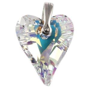 Charm School Uk > Swarovski Crystal Pendants > Wild Heart Pendant